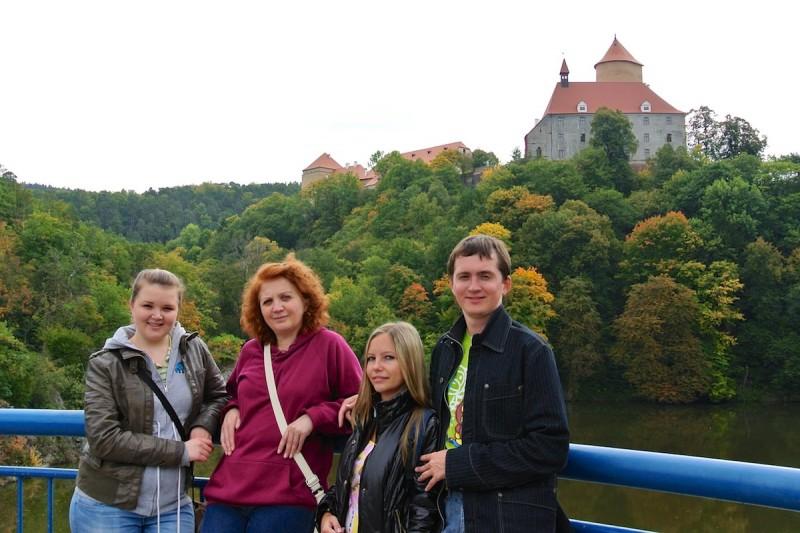 Прогулка к замку Белочки