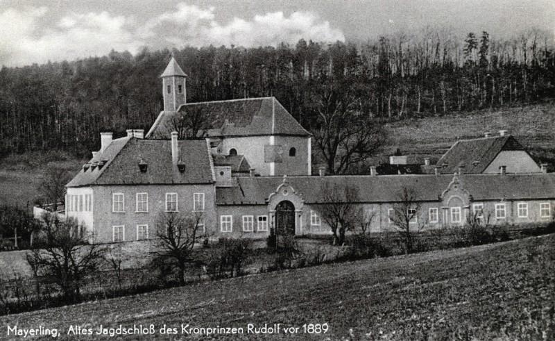 Открытка с видом охотничьего домика до 1889 г.