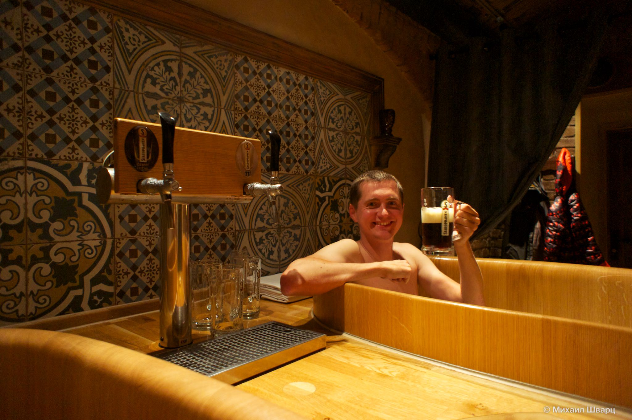 Как я принимал пивные ванны в Праге
