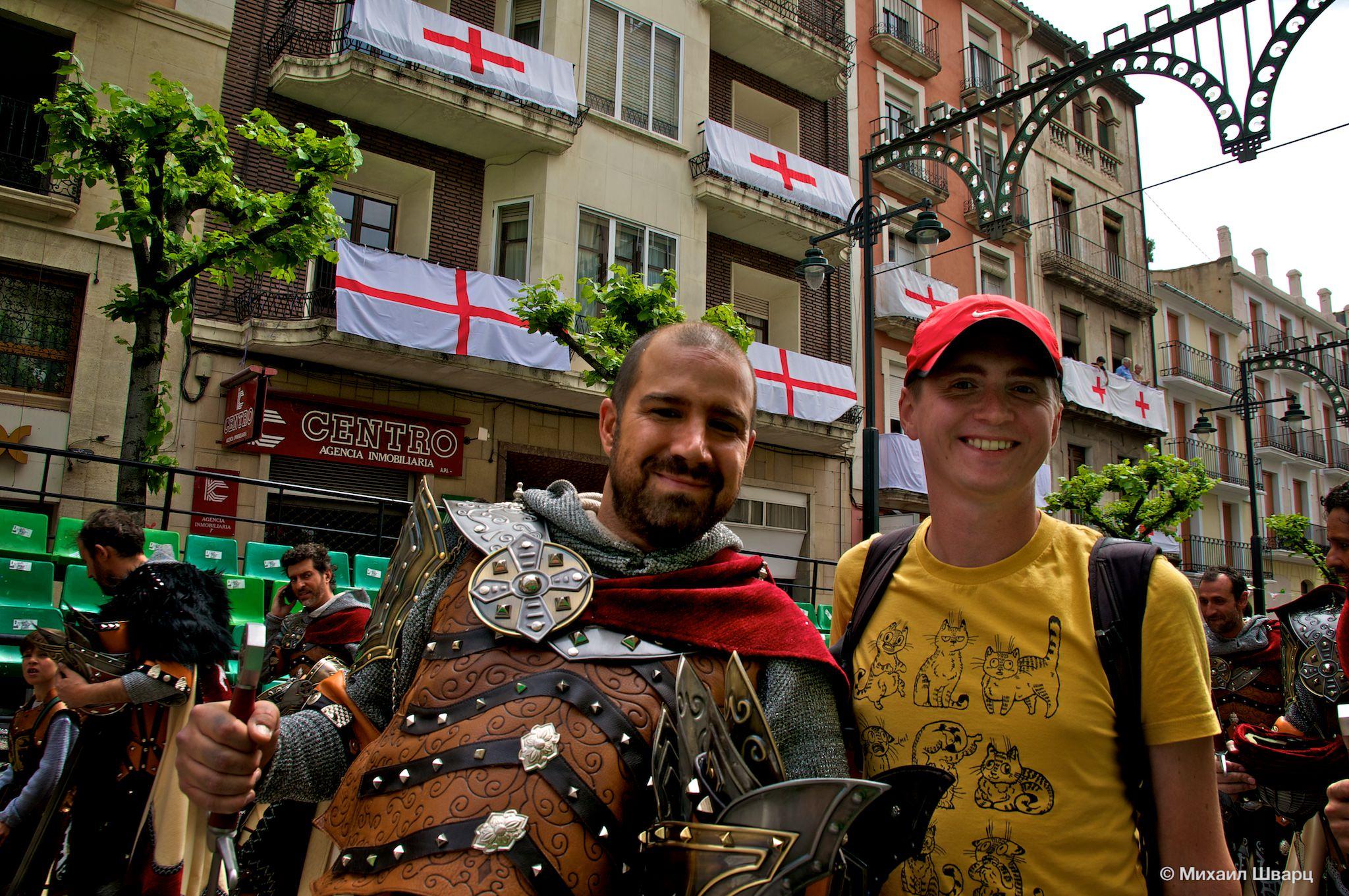 Фестиваль Мавры и Христиане в Испании
