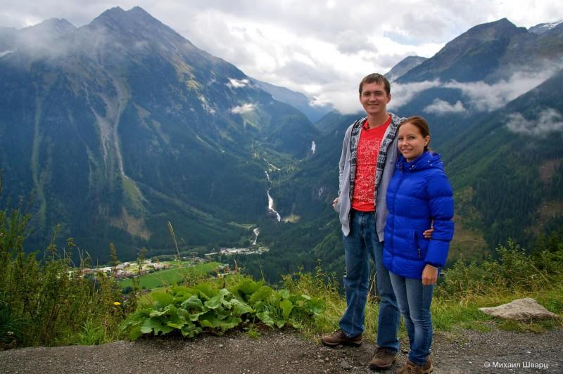 На альпийской дороге Герлос