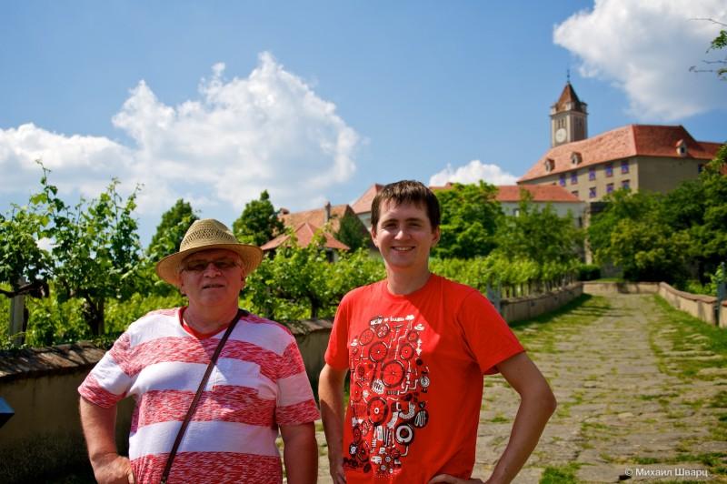 В замке Ригерсбург