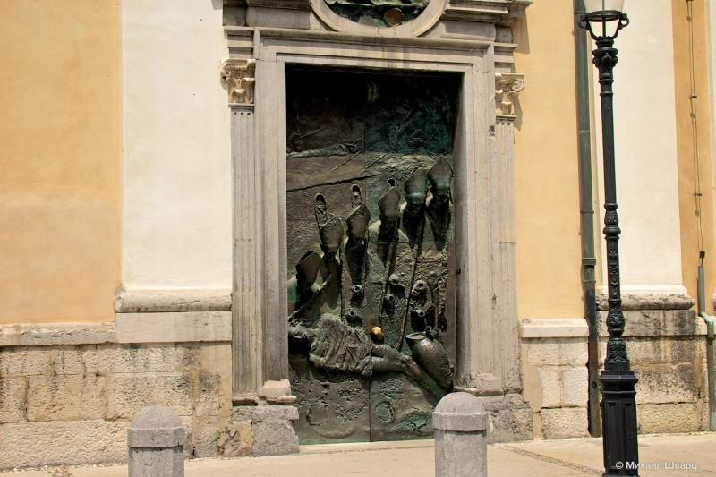 Ворота Собора Святого Николая