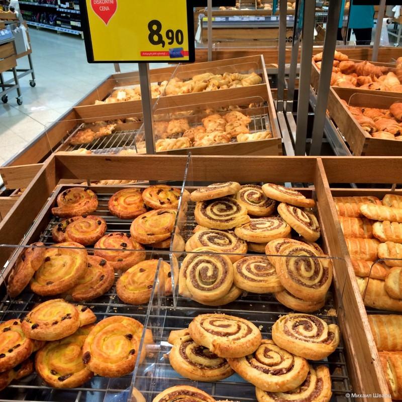 В чешском супермаркете