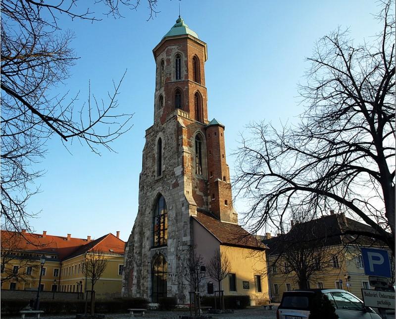 Башня церкви Марии Магдалины