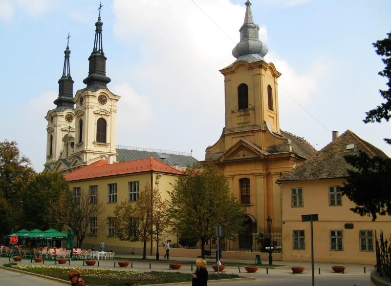 Кафедральный собор Святого Николая и  храм Святой Троицы