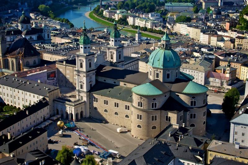 Вид на собор с высоты