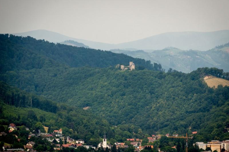 Руины крепости Gösting