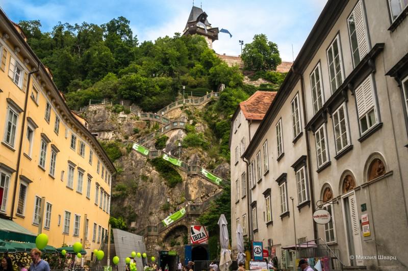 Скальная лестница