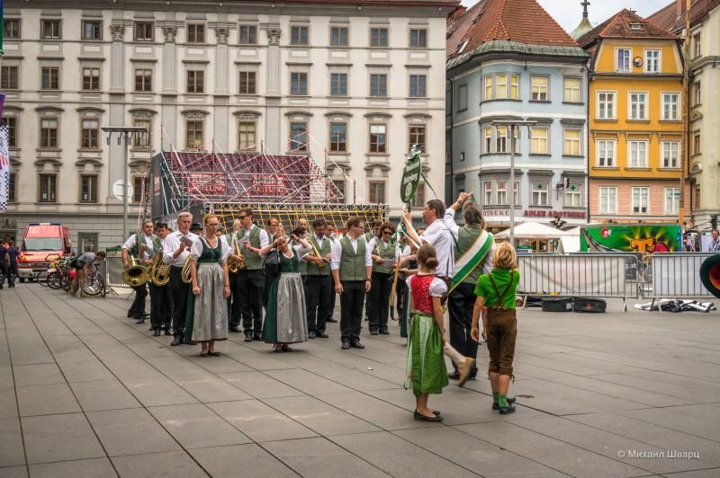 Оркестр на главной площади