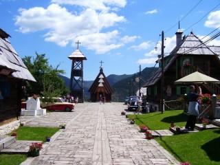 Деревня Эмира Кустурицы — Дрвенград