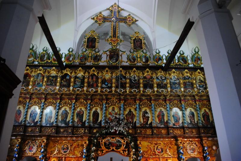 Иконостас церкви Явления Святой Девы