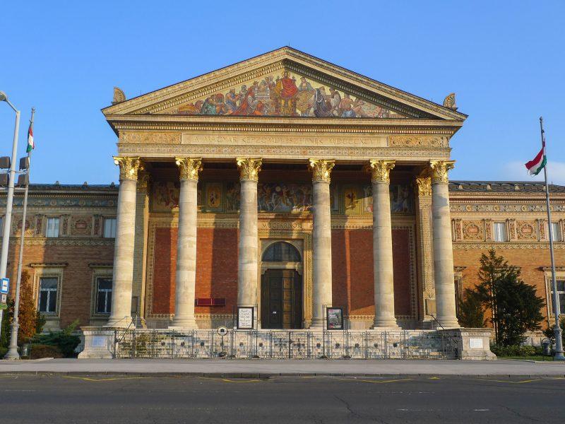 Выставочный зал Мючарнок (Műcsarnok)