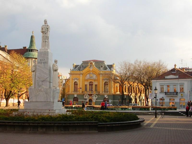 Библиотека и памятник Йовану Ненаду, самопровозглашенному сербскому царю