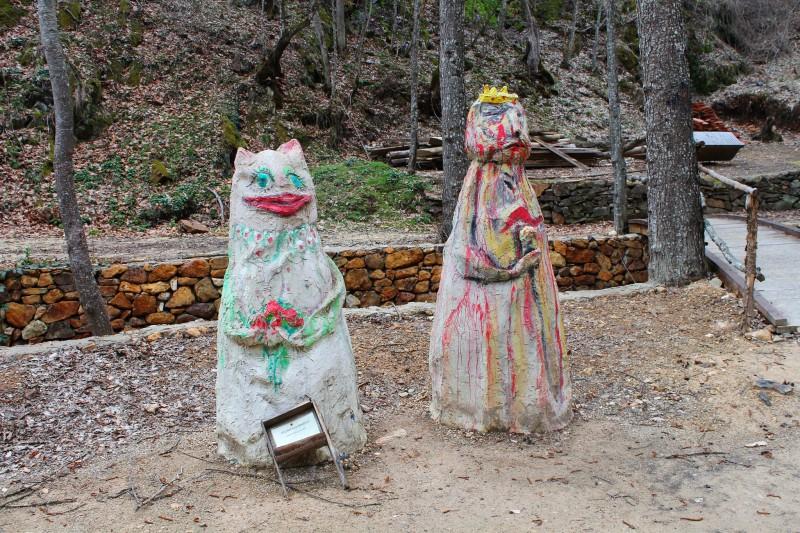 Современные деревянные скульптуры