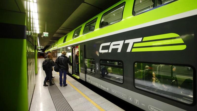 Скоростной поезд CAT