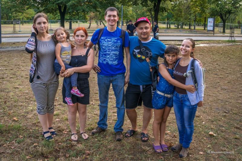 Встреча с Костей и его семьей