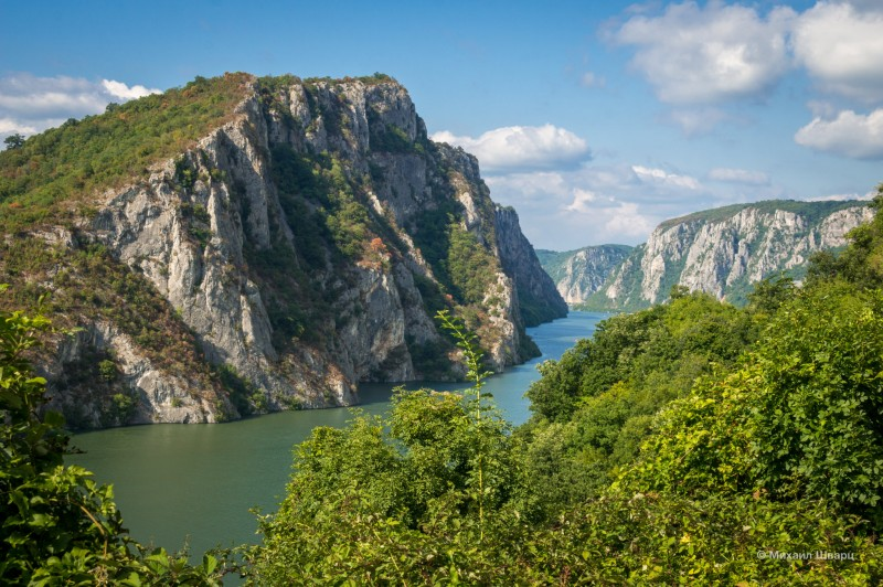 Каньон и Дунай