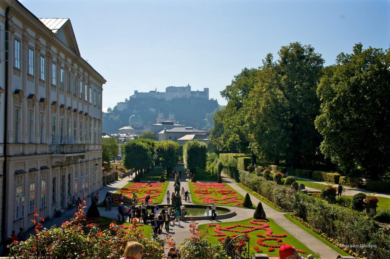 Дворец и парк Мирабель