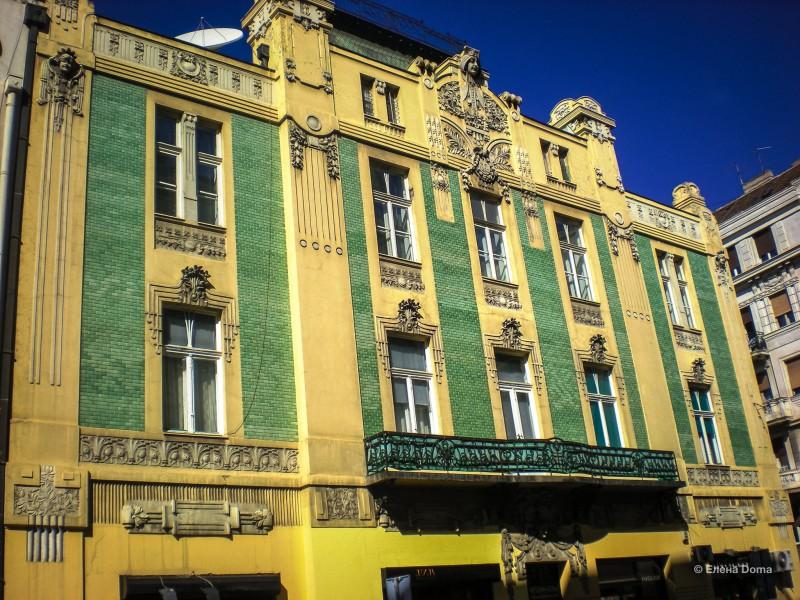 Дом торговца Стаменковича или дом с зелеными плиточками (1906-1907), архитекторы А.Стеванович и Н.Несторович