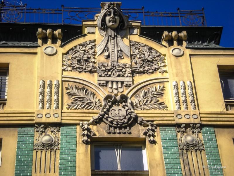 Роскошный фасад