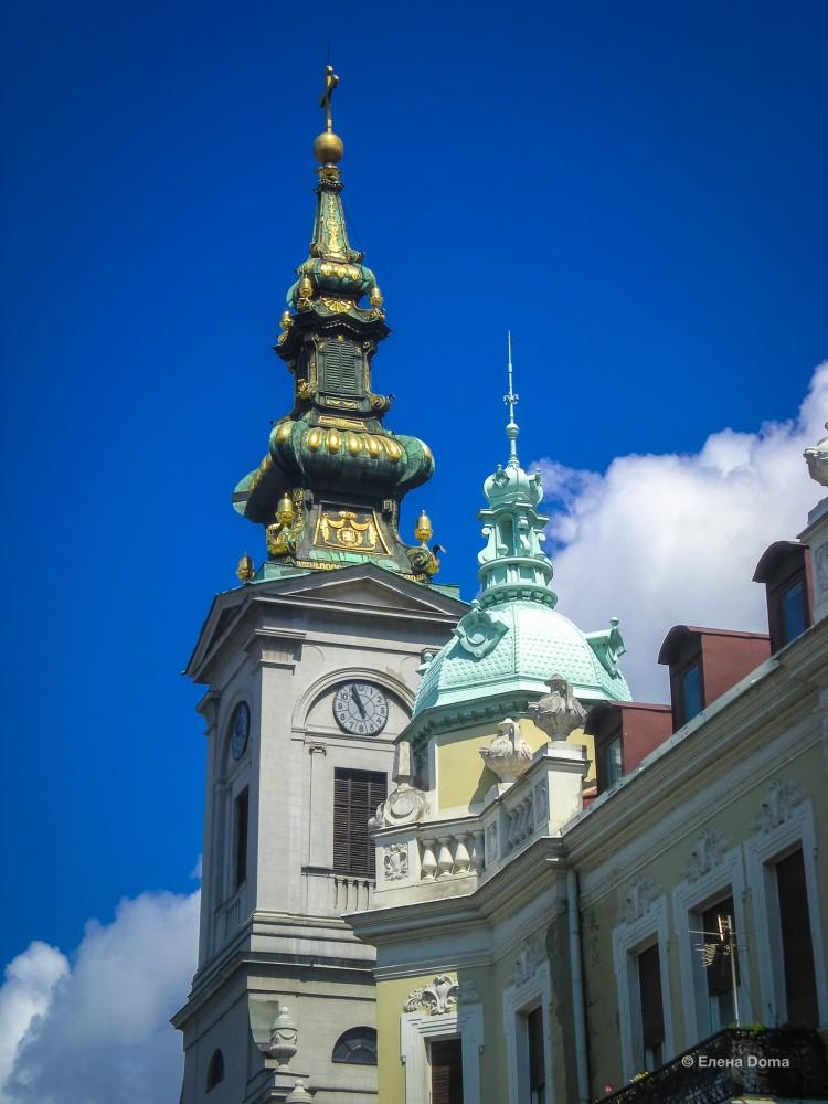 Купол Кафедрального собора Белграда