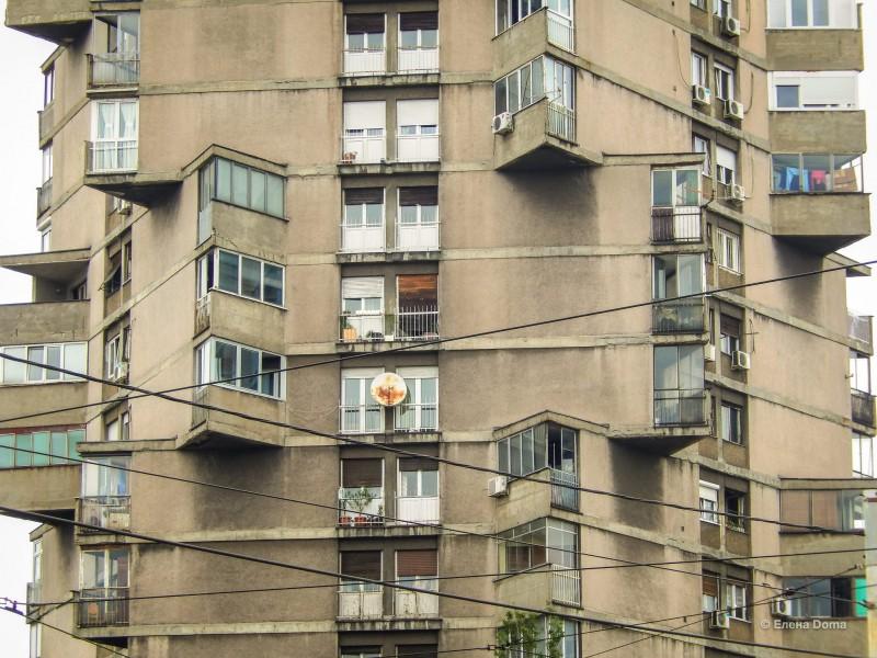 Треугольные балконы