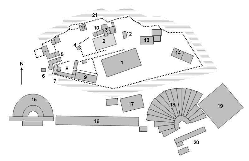 Объекты Акрополя