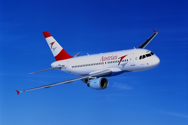 Путешествие на самолете из Вены в Будапешт