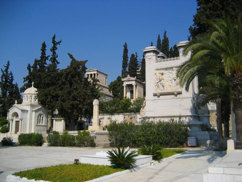 Первое афинское кладбище