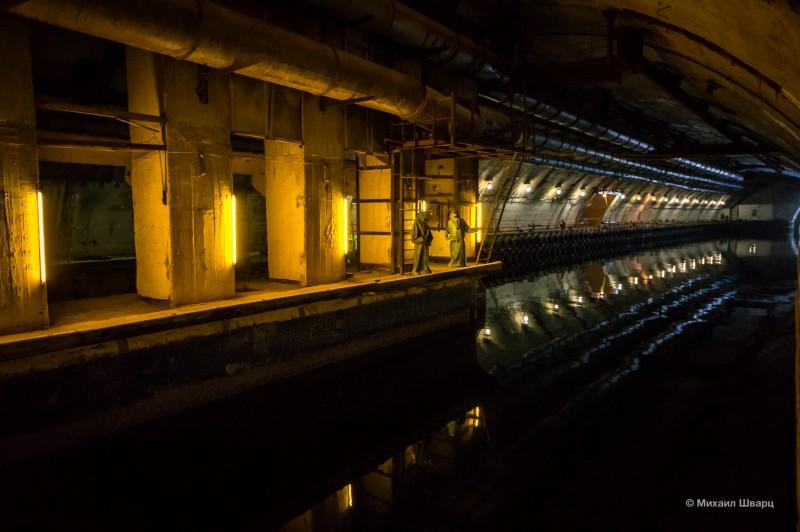 Туннель для ремонта подводных лодок