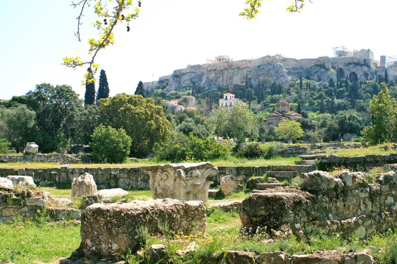 Афинская агора