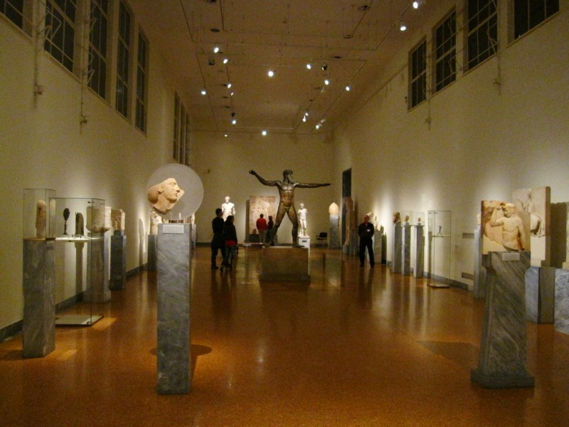 Экспозиция Архиологического музея