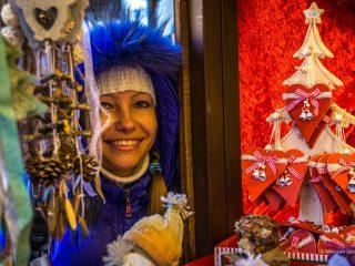 Рождественские базары Вены 2018