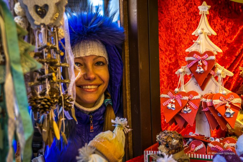 Рождественские базары Вены 2019