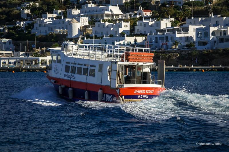 На лодке за €2 домчались из порта