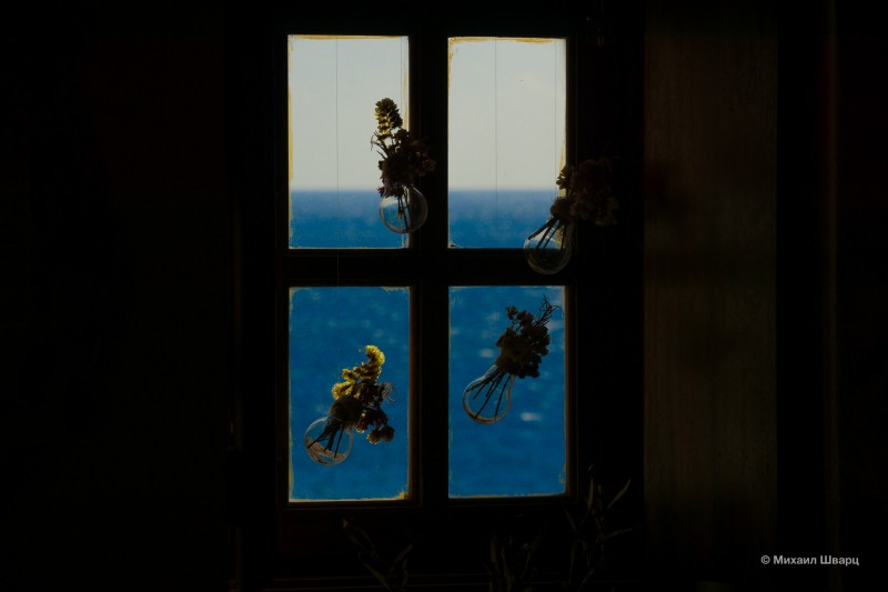 А в окне – море!