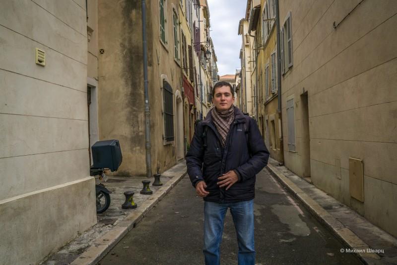 Гуляю по старинным улочкам Марселя