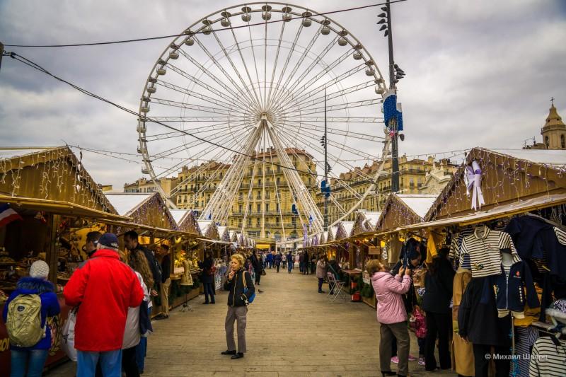 Рождественская ярмарка в Марселе