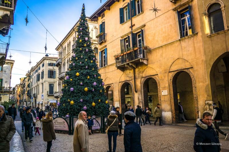 Дух Рождества на улицах