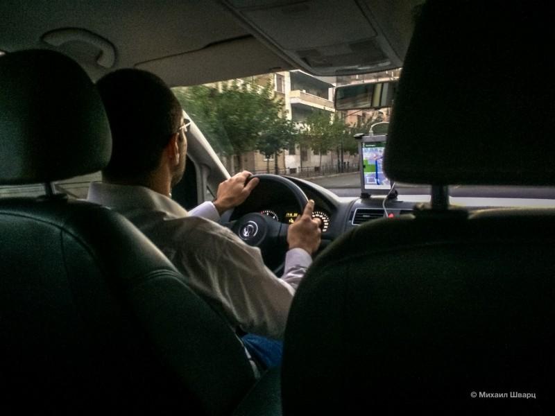 Снова такси Uber в Афинах