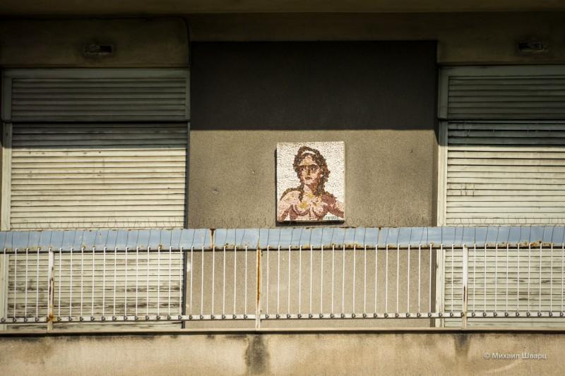 Картина на балконе