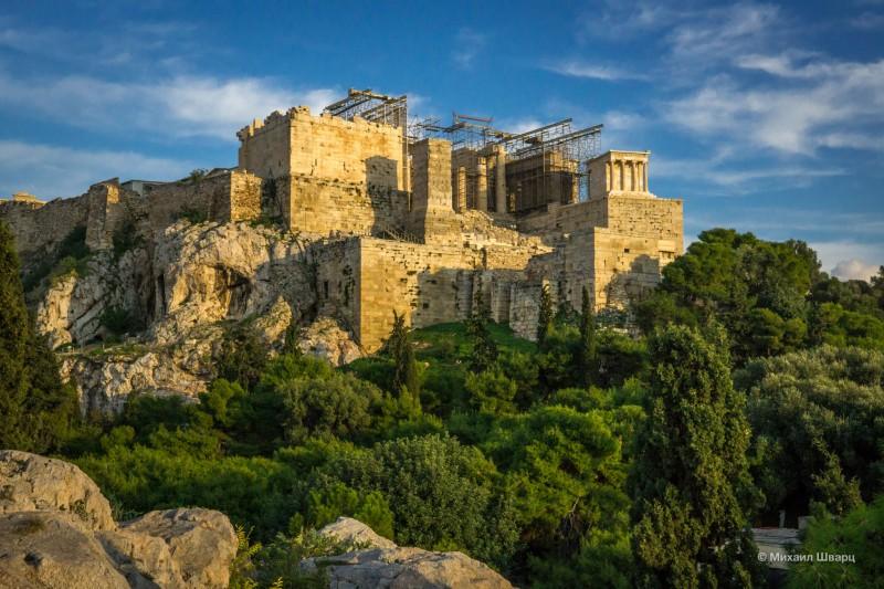 Вечерний Акрополь