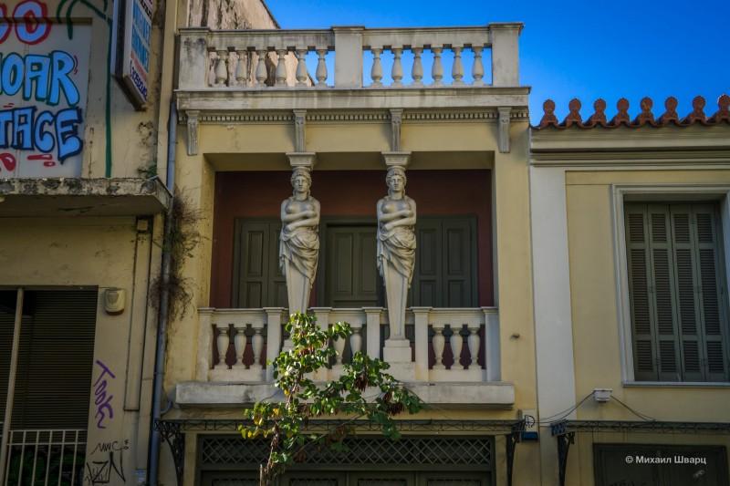 Пафосный балкон