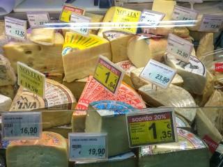 Цены на продукты в Италии в 2019