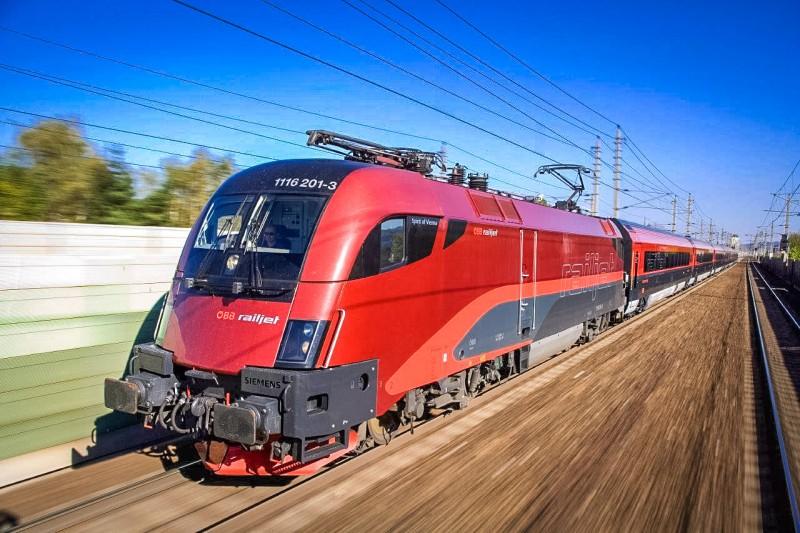 Из Вены в Мюнхен на поезде