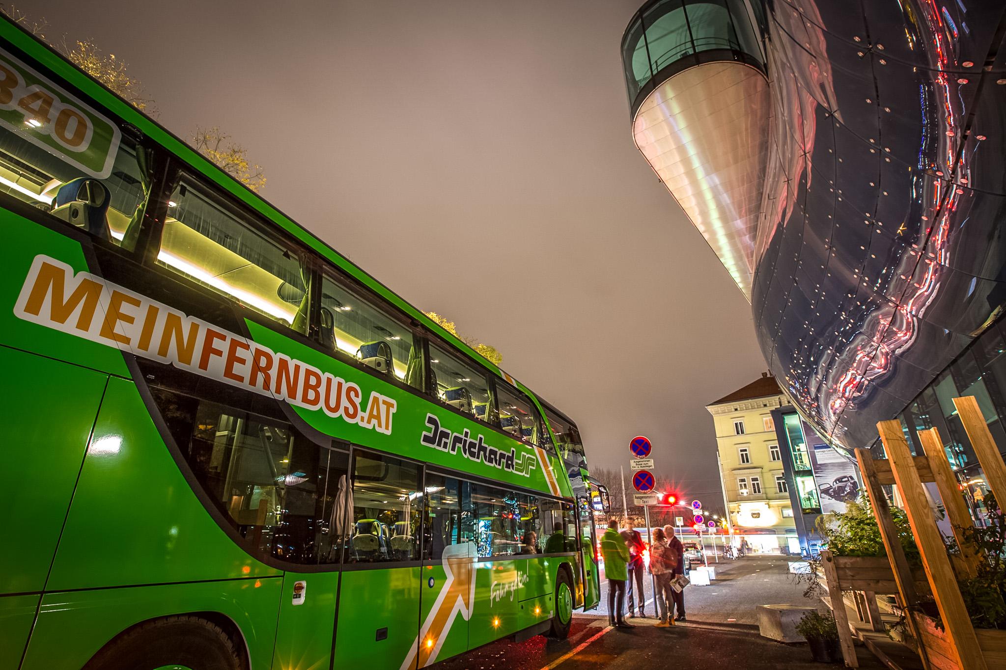 Как добраться до Европы на автобусе
