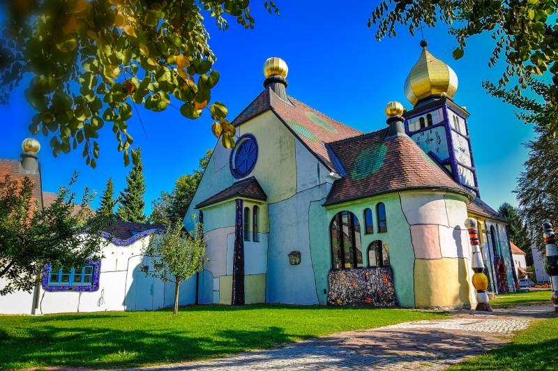 Церковь св. Варвары в Бернбахе