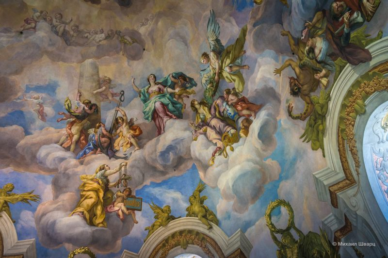 Фреска центрального купола