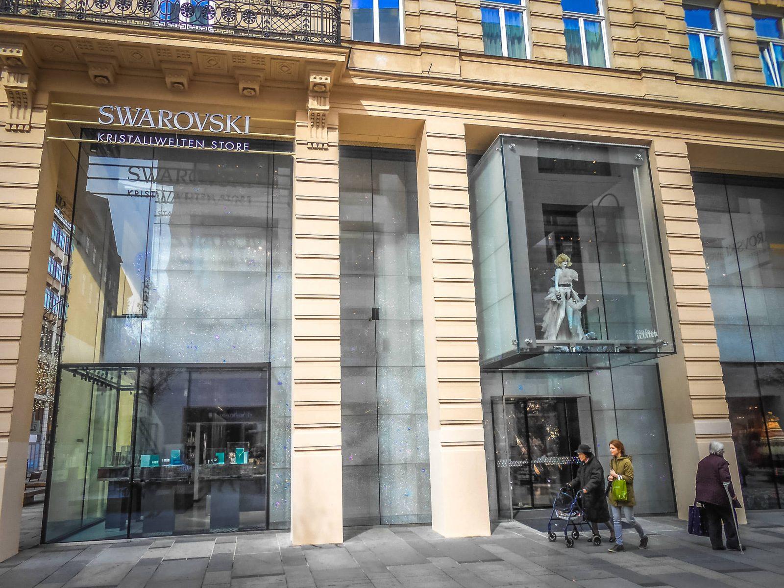 Магазин Swarovski